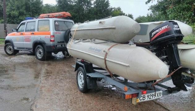 Злива підтопила каналізаційну станцію в Чернігові