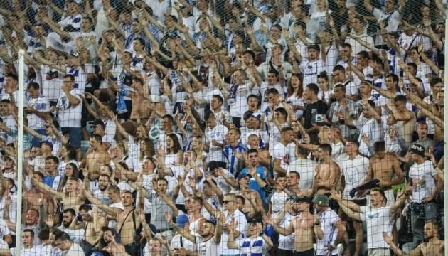 УЄФА закрив 22 сектора на матчі «Динамо» - «Брюгге»