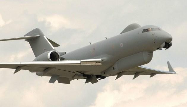 Літак ВПС Британії провів розвідку біля берегів Криму