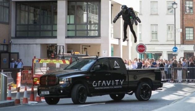 Как Железный человек: в Британии выставили на продажу летающий костюм