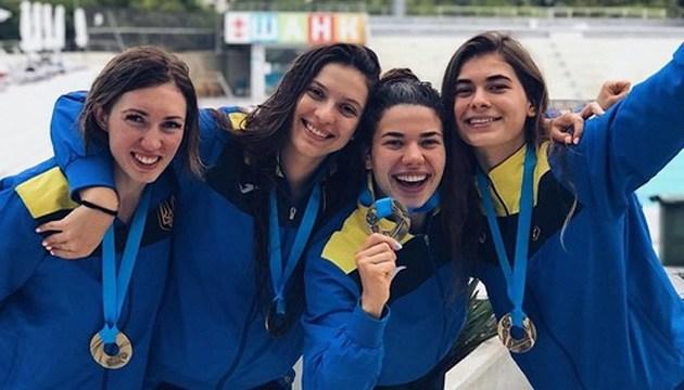 Сборная Украины завоевала 6 золотых наград на ЧМ по подводному плаванию