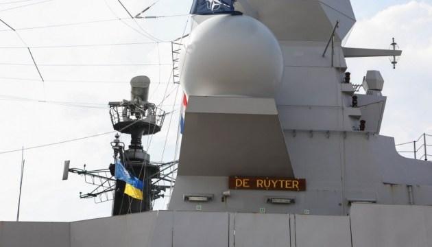 Кораблі НАТО і України відпрацюють спільні дії в умовах військового конфлікту