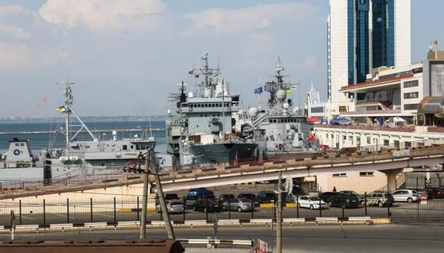 До Одеси прибули кораблі НАТО