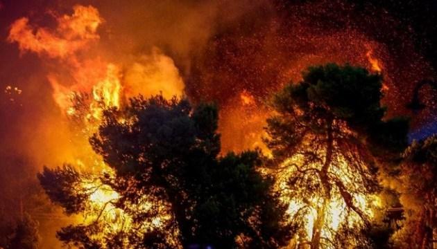 Лісові пожежі в Греції забрали життя вже 20 осіб
