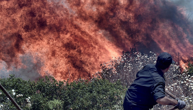 Ukraine ready to help Greece fight wildfires