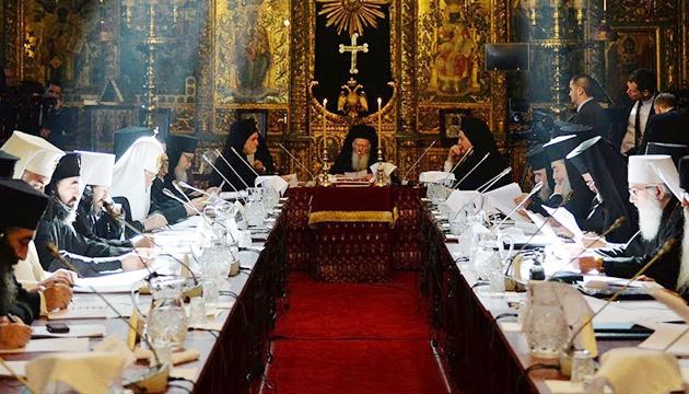 Усі члени Синоду Вселенського патріархату підписали Томос