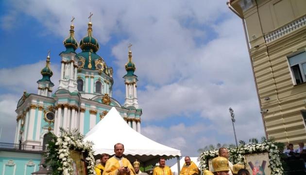 Poroshenko propone transferir la Iglesia de San Andrés al Patriarcado Ecuménico