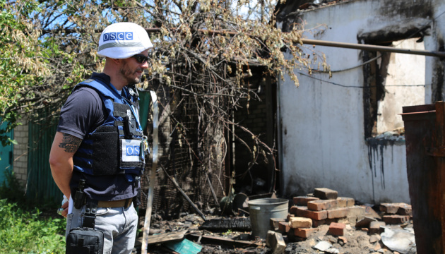 OSCE records increase in explosions in eastern Ukraine