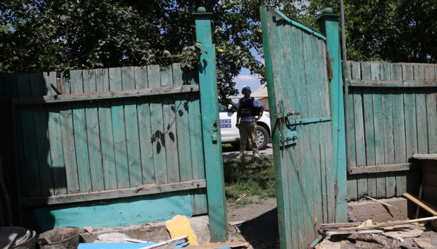 Militants in Donbas again block OSCE SMM's movement