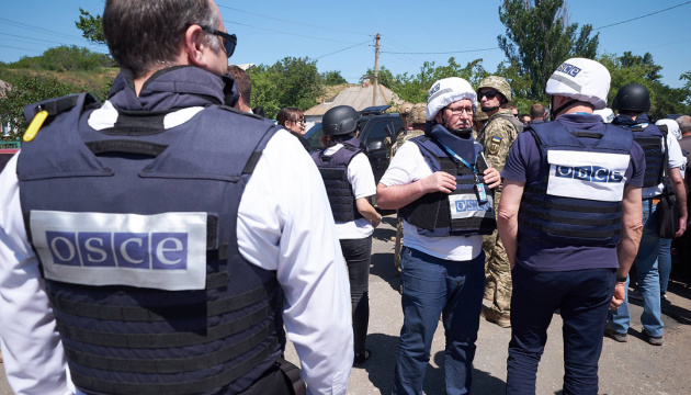 OSCE records invaders' positions at Petrivske disengagement area