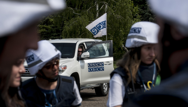 OSCE spots 119 weapons of invaders located outside designated storage sites