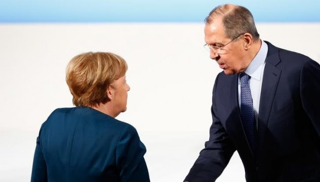 Merkel, Lavrov discuss situation in Ukraine and Syria at meeting in Berlin