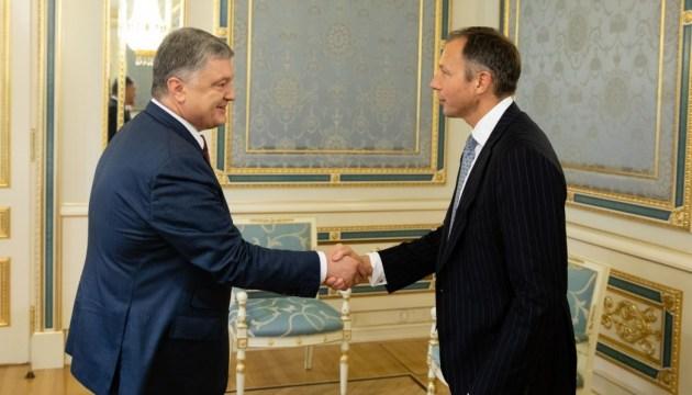 Poroschenko und Fannon besprechen Gegenmaßnahmen gegen Nord Stream 2