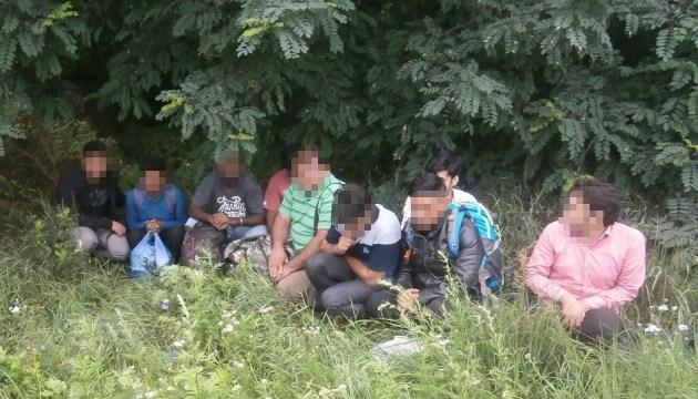 На границе с Россией задержали группу нелегалов-
