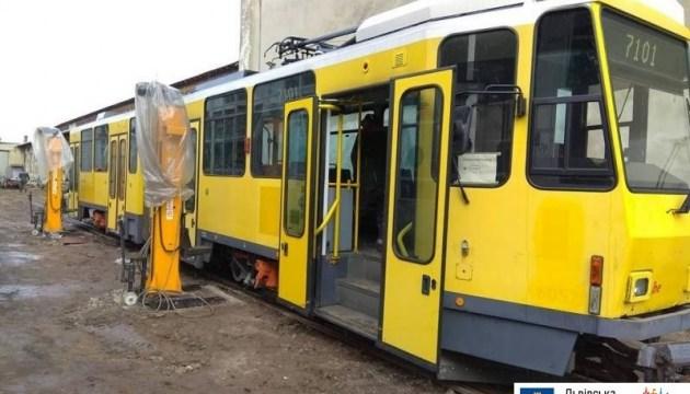Львів оновлює трамвайний парк вживаними вагонами