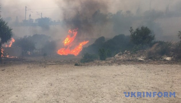Extreme level of fire hazard remains in Ukraine
