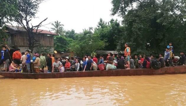 Прорив дамби у Лаосі: вже 19 загиблих