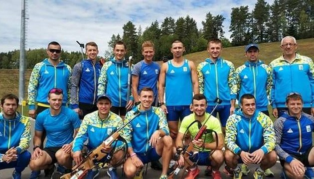 Біатлон: чоловіча збірна України розпочала збір в Австрії