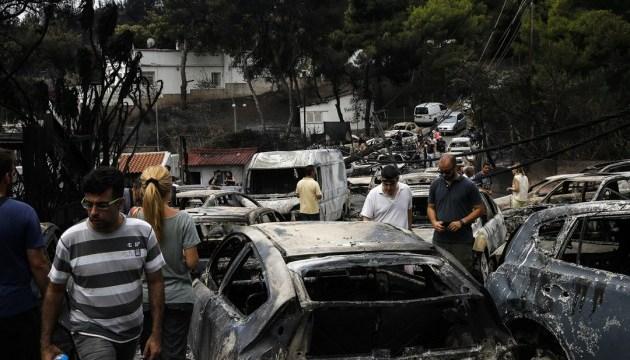 В Греции два вице-мэры подали в отставку после смертельных пожаров
