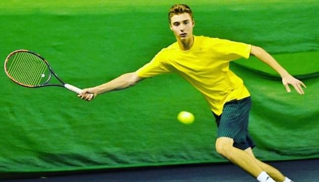 Теніс: Олексій Крутих побореться за місце в 1/4 фіналу чемпіонату Європи U-18