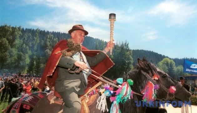 У Карпатах гуцульські ватаги зазіхнуть на новий рекорд України