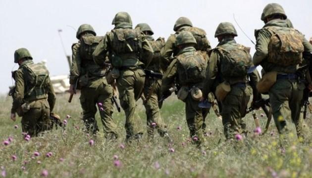 Окупанти у Криму намуштровують морпіхів на