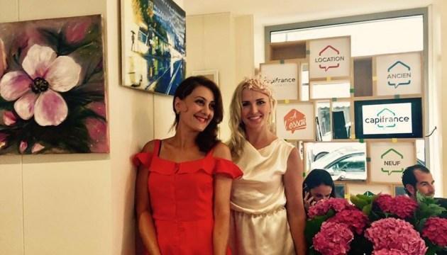 У Парижі відкрилася виставка художниці з України