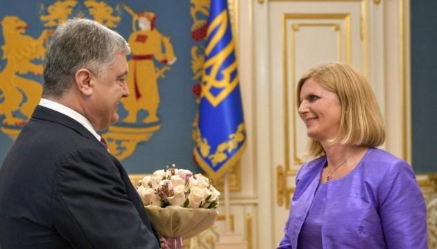 Порошенко поблагодарил Словению за поддержку