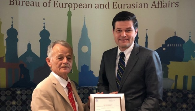 Wess Mitchell, Mustafa Dzhemilev speak about Crimea