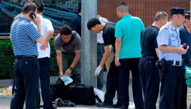 Возле посольства США в Пекине произошел взрыв