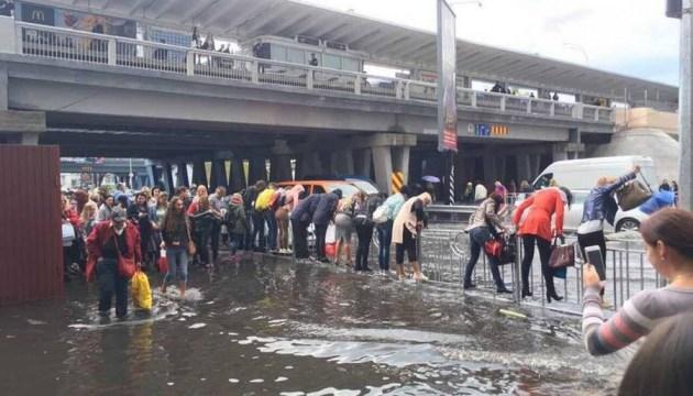 В Киеве разрабатывают проекты замены дождевой канализации