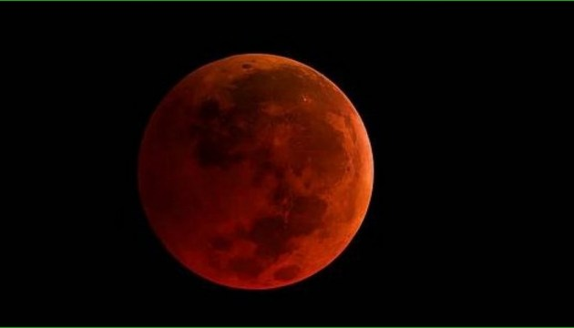'Blood Moon': Almost all phases of eclipse to be visible in Ukraine
