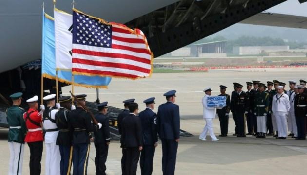 КНДР почала повертати Штатам останки загиблих у Корейській війні