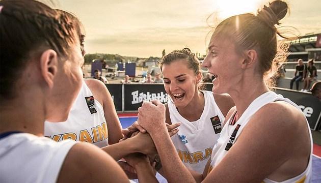 Баскетбол 3х3: сборные Украины U-23 среди лидеров Nations League