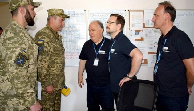 Наєв закликає генсека ОБСЄ посилити ефективність місії на Донбасі