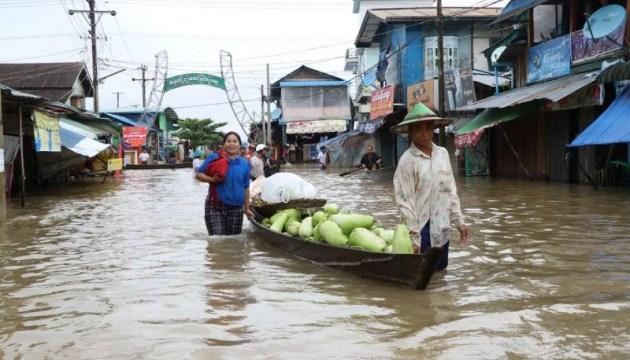 У М'янмі повені