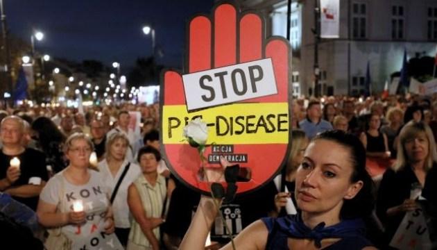 Протесты в Польше. Судебная реформа PiS и председатель Верховного суда в изгнании