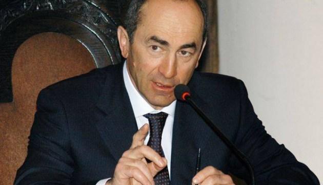 Суд арестовал второго президента Армении Кочаряна
