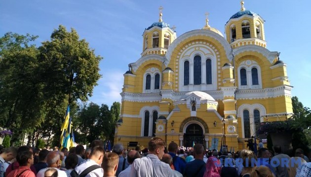 Православна громада України не може бути додатком до когось - Президент