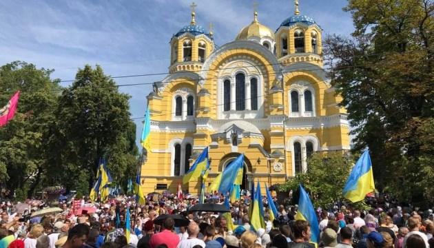 У Києві тисячі парафіян готові рушити Хресною ходою