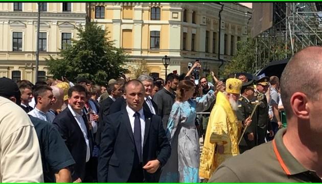 Filaret encabeza la procesión