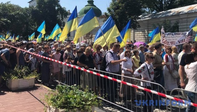 Хресна хода у Києві зібрала 65 тисяч осіб. Їх охороняють 2500 силовиків