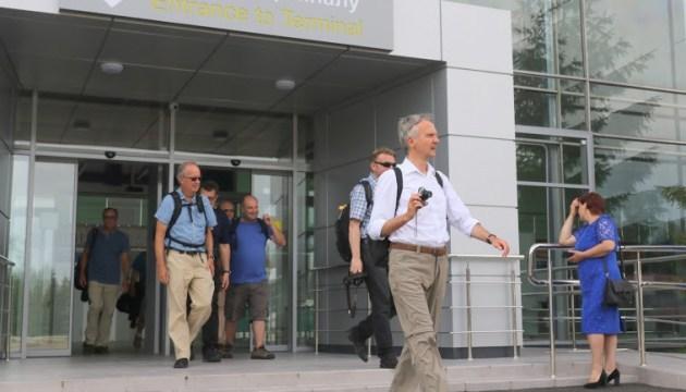 """Аеропорт """"Полтава"""" прийняв перший рейс після реконструкції"""