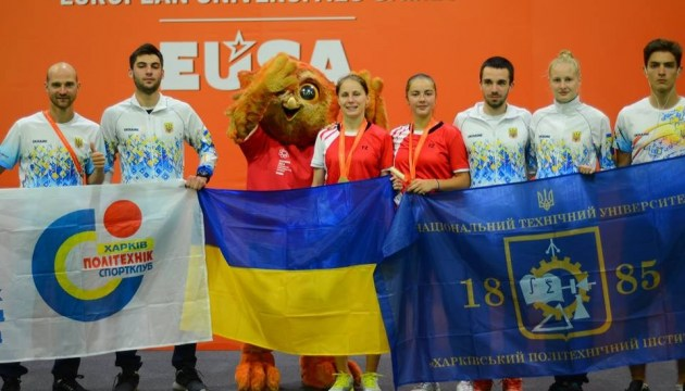 Europäische Universitätsspiele: Poroschenko hält Erfolge Ukrainer für glänzend