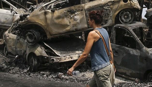 У Греції приймають заявки на виплату допомоги жертвам пожеж
