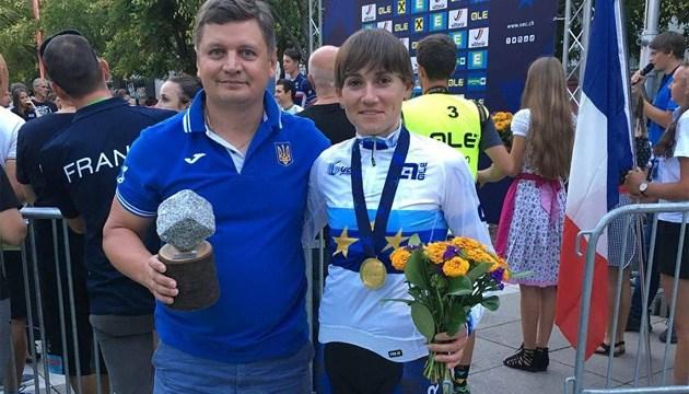 Українська велогонщиця Попова виборола