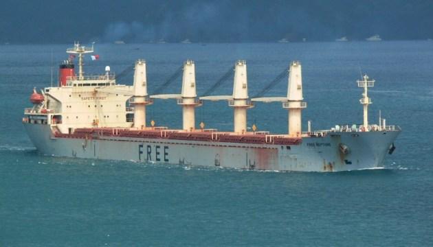 В Украину из Омана вернулись 15 членов экипажа судна Free Neptune