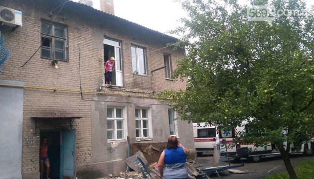 На Дніпропетровщині впав балкон з людьми