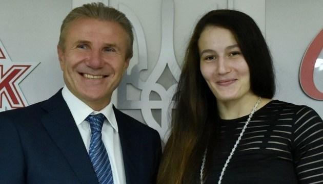 В Олімпійському домі нагородили кращу спортсменку червня Марію Боруцу
