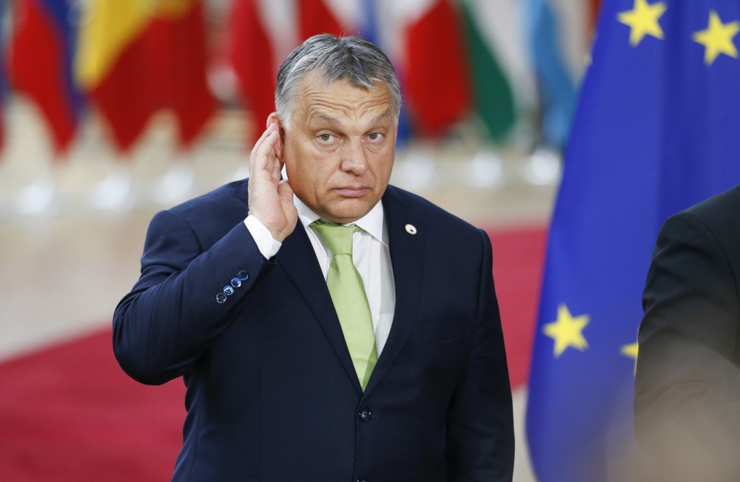 Орбан Фото: Xinhua News Agency/PA Images